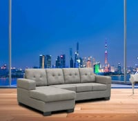 New fabric sectional on sale  Toronto, M9W 1P6