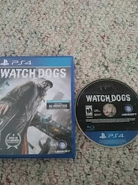 Watch dogs PS4 game disc with case