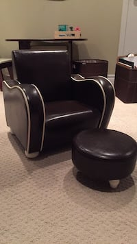 Kids Leather Chair and Footstool Toronto, M4S 1E6