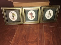 Miniature Fishing Lures Picture Drawing Framed Art Decorations  Manassas, 20112