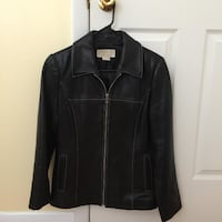 Womans Michael Kors Leather Jacket CLIFTONPARK