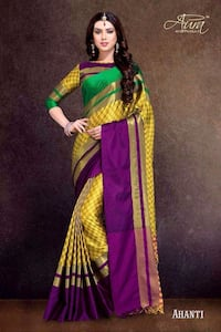 Saree  New 6246 km