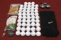 48 New Assorted Golf Balls with Accessories Norfolk