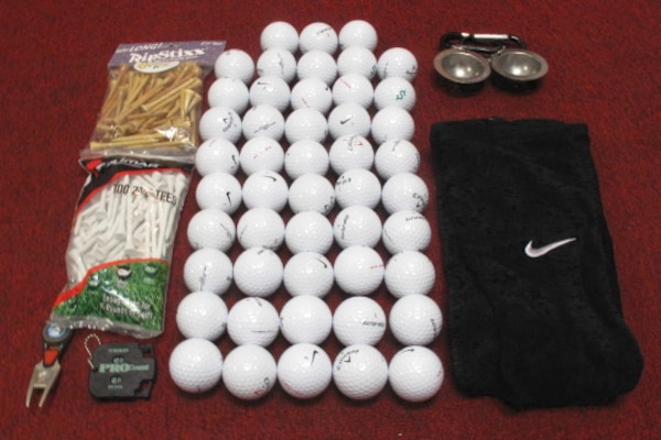 48 New Assorted Golf Balls with Accessories