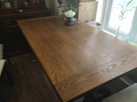 Oak dining room table Chevy Chase, 20815