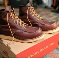 Redwing Moc toe 6in in Briar Oil Slick color