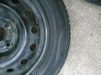 black auto wheel with tire Boonville, 47601