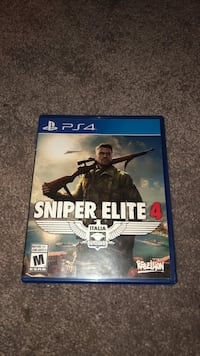 Sniper elite 4 ps4  Abbotsford, V2S 1V4