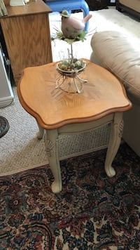 End Table with Inlay