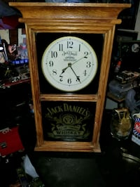 Antique Jack Daniel's Clock. Asking:$100 Albuquerque, 87110