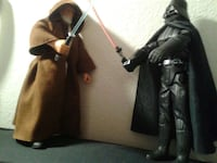 "S/W12"" Obi-Wan and Darth Vader talking figures   Albuquerque, 87120"