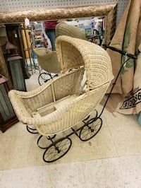 1910s antique baby buggy HURSTBRNE ACR, 40220