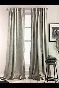 DKNY Uptown Loft Curtains! (Light Gray) Arlington, 22204