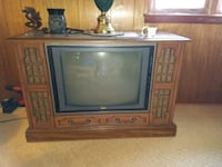 Console TV.  Free..cannot locate power cord Jackson, 49202