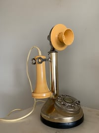 Bonnie and Clyde candlestick phone