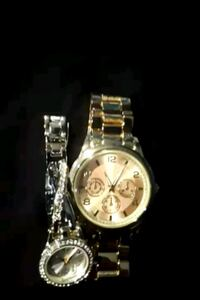 Silver and gold plated watches for women Brampton, L6Y 4T3