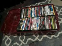Over  50 movies and shows with a few video game's  Spring, 77379