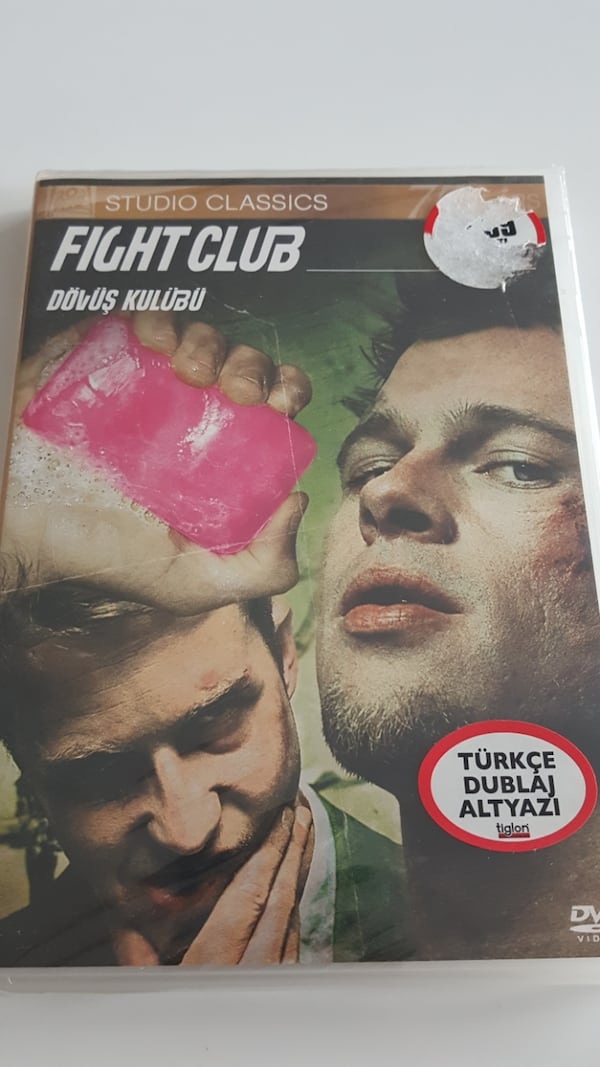 Fight Club * SIFIR JELATİNİNDE - DVD FİLM  0