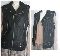 Leather Vest - Size 12 Montreal, H8N