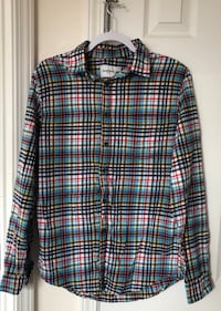 Men's Colorful Button Down Medium Fort Bliss, 79906