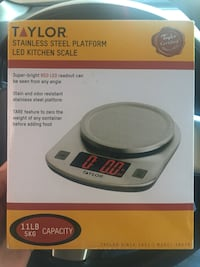 Taylor Stainless Steel LED Kitchen Scale Las Vegas, 89108