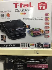 OptiGrill Indoor Electric Grill with Removable plates Black Derwood