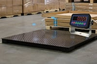 4x4 Floor Scale 10,000 lb with Electronic Display Las Vegas, 89118