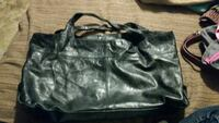 black leather tote bag London, N6J 4H4