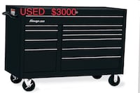 black Snap-On tool cabinet