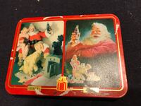 4 collector playing cards tin cans 1457 mi