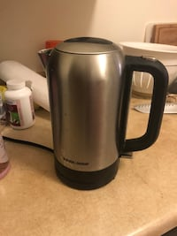 gray and black electric kettle Winnipeg, R3T 2K1