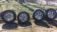 tires P275  -60 R20 with  Chrome Rims it's available until marked sold Beltsville, 20705