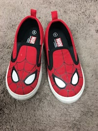 Spider man kids shoes size 9