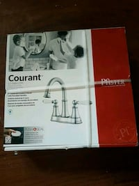 New silver Courant faucet  Regina, S4T 2M2