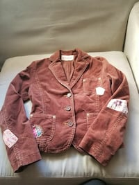 Brown Coat Sz Juniors Small. Brand is Picasso.
