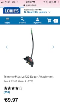 Trimmer plus LE720 new and never used  Nashville, 37211