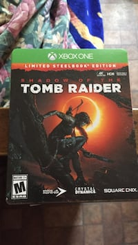 Shadow of the tomb raider for xbox one  222 mi