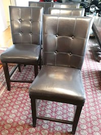 5  original leather chairs for $100 moving sale  Toronto, M4H 1E4