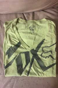 Neon yellow/green fox tshirt