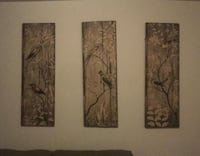 three brown wooden framed wall decors Sterling, 20164