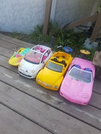 children's four assorted ride on toy cars Mascouche, J7K 3C2