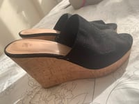 Black Cork Mules by H&M - Women's Size 41 Toronto, M4P 1T9