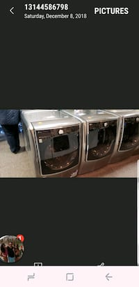 Washers and dryers 40 down pay as you go no credit St. Louis, 63146