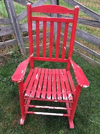 red rocking chair Great Falls, 22066