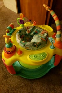 baby's green and orange activity saucer Hollister, 95023