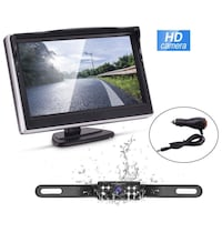 Brand new in box Backup Camera and Monitor Kit,Waterproof Night Vision 马卡姆, L6E 2C4