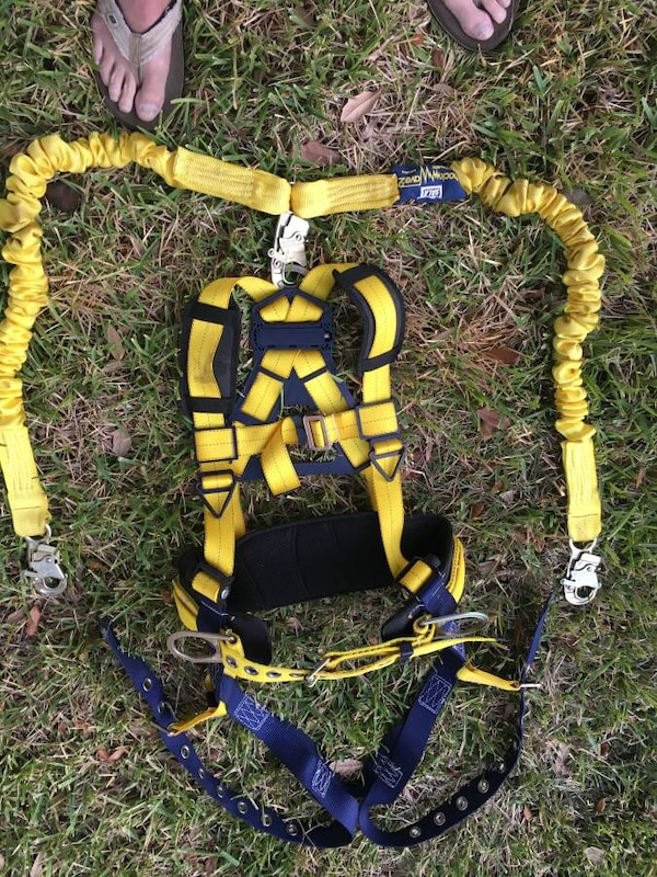 Ironworkers safety harness