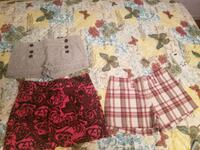 Shorts and skort sizes 2 and 4 Voorhees Township, 08043