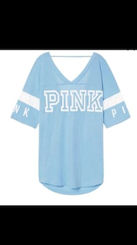 Pink open back athletic tee Stockton, 95206