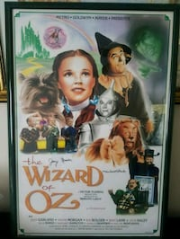 Wizard of Oz Poster signed collection